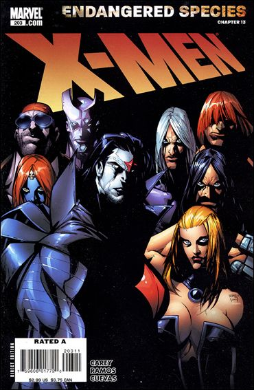 X-Men (1991) 203-A by Marvel