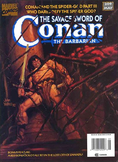 Savage Sword of Conan (1974) 209-A by Marvel