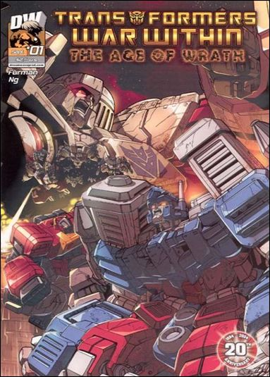 Transformers: War Within: The Age of Wrath 1-A by Dreamwave