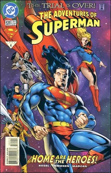 Adventures of Superman (1987) 531-A by DC
