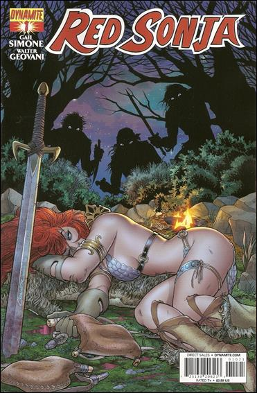 Red Sonja (2013) 1-B by Dynamite Entertainment