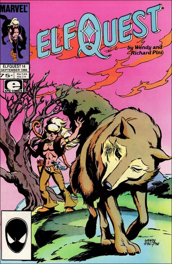 Elfquest (1985) 14-A by Epic