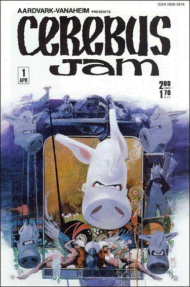 Cerebus: Jam 1-A by Aardvark-Vanaheim