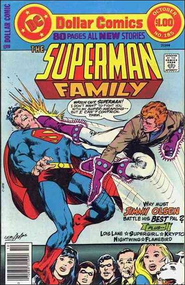 Superman Family 185-A by DC