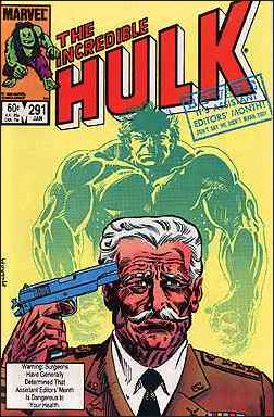 Incredible Hulk (1968) 291-A by Marvel