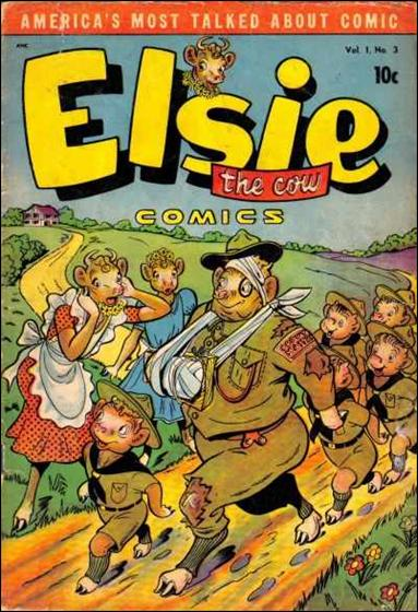 Elsie the Cow 3-A by D.S. Publishing