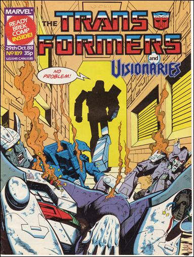 Transformers (UK) 189-A by Marvel UK