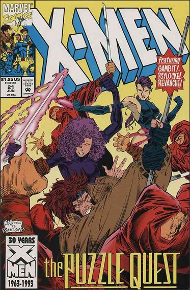 X-Men (1991) 21-A by Marvel