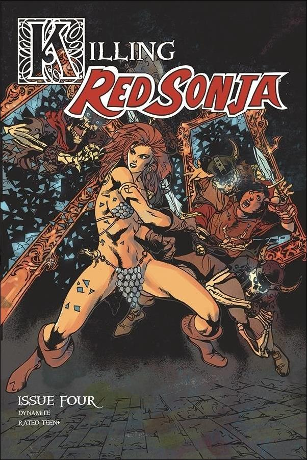 Killing Red Sonja 4-C by Dynamite Entertainment