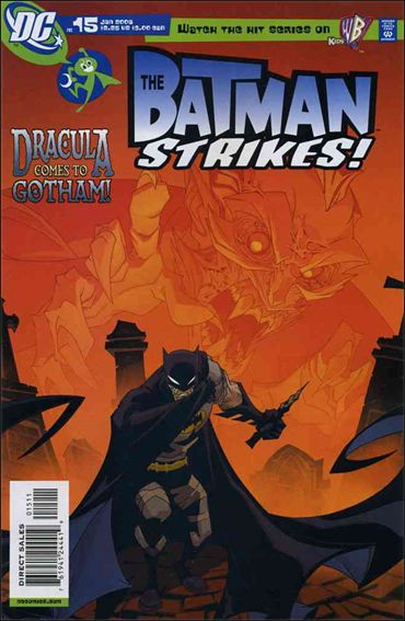Batman Strikes 15-A by DC