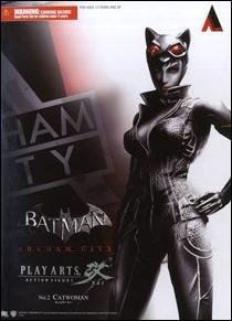 Batman: Arkham City (Play Arts ~ Kai)  Catwoman by Square Enix