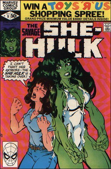 Savage She-Hulk 9-A by Marvel