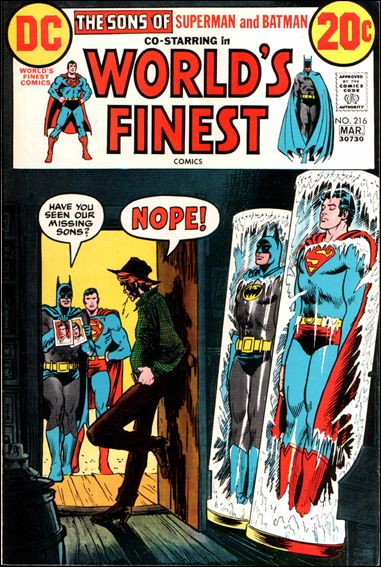 World's Finest Comics 216-A by DC