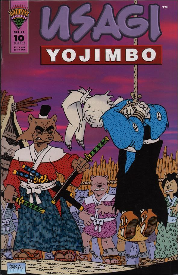 Usagi Yojimbo (1993) 10-A by Mirage
