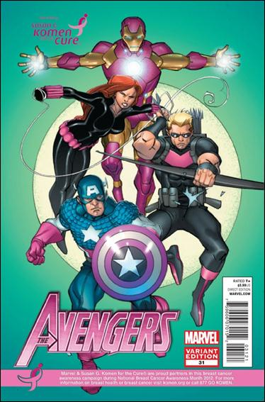 Avengers (2010) 31-B by Marvel