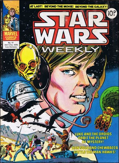 Star Wars Weekly (UK) 17-A by Marvel UK
