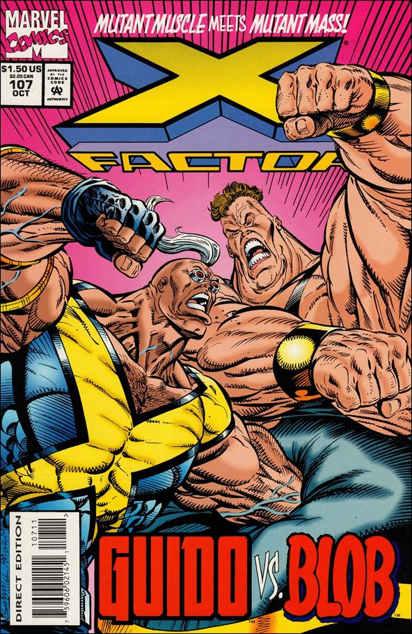 X-Factor (1986) 107-A by Marvel