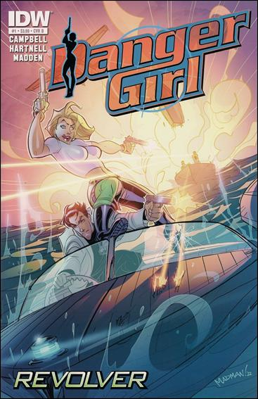 Danger Girl: Revolver 1-B by IDW