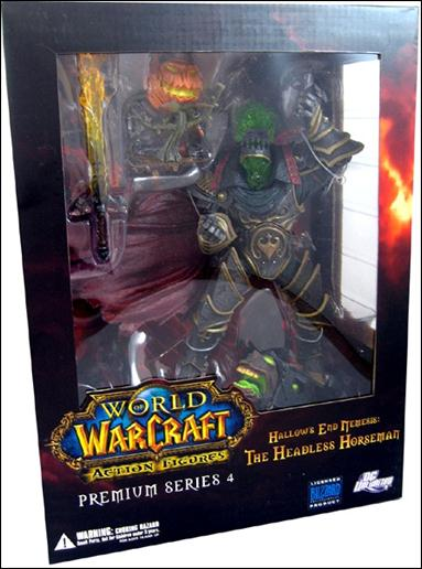 World of Warcraft (Premium Series 4) The Headless Horseman (Hallow's End Nemesis) by DC Direct