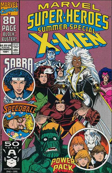Marvel Super-Heroes (1990) Summer 1991-A by Marvel