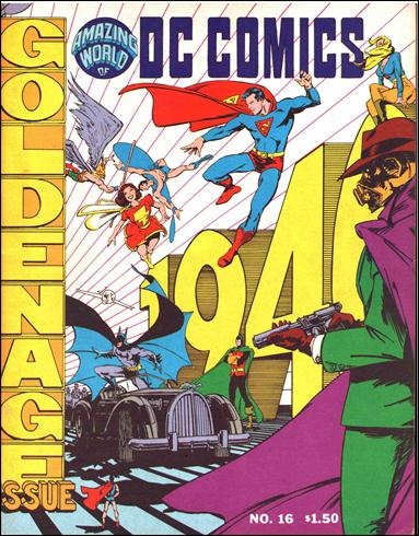 Amazing World of DC Comics 16-A by DC