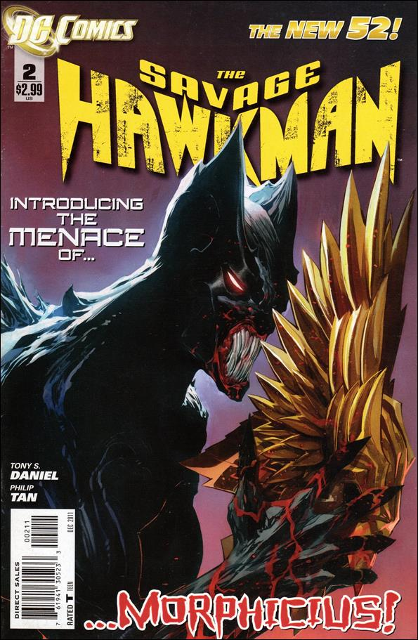 Savage Hawkman 2-A by DC