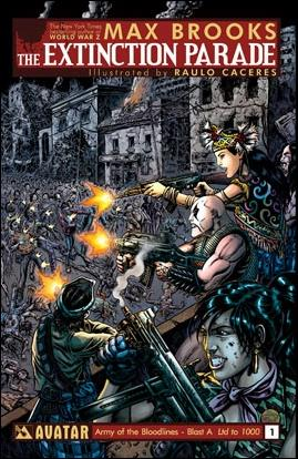 Extinction Parade 1-K by Avatar Press
