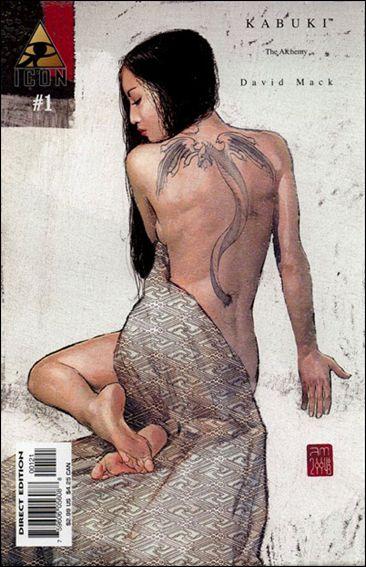 Kabuki (2004) 1-B by Icon