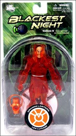 Blackest Night (Series 8) Orange Lantern Lex Luthor