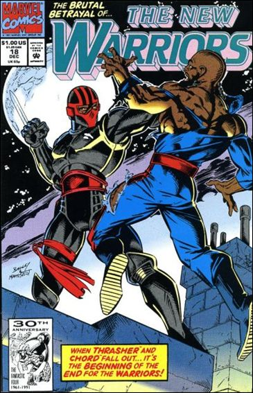 New Warriors (1990) 18-A by Marvel