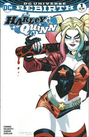 Harley Quinn (2016) 1-UI