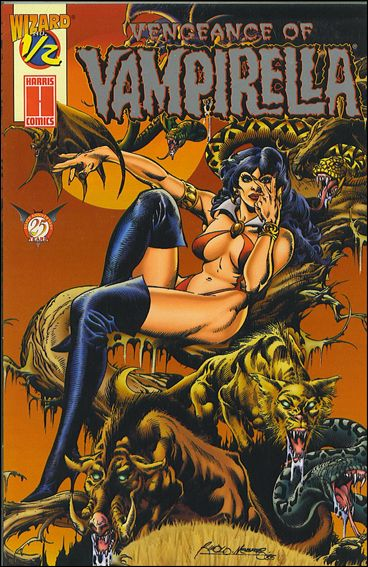Vengeance of Vampirella 1/2-B by Harris