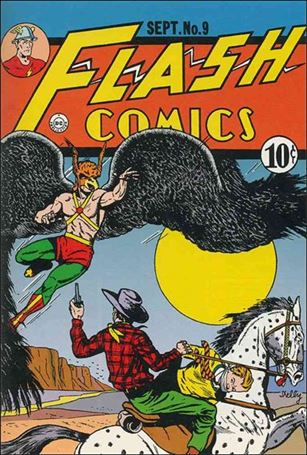 Flash Comics (1939) 9-A