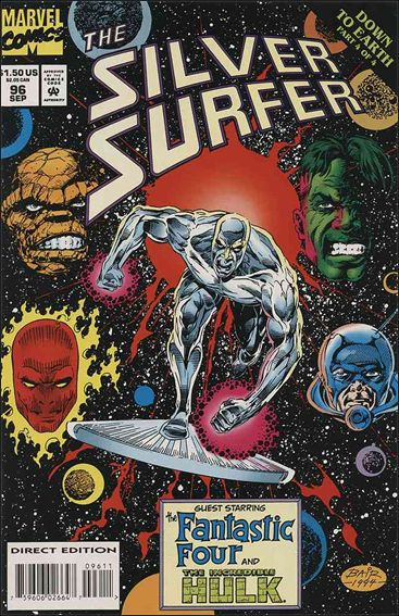 Silver Surfer (1987) 96-A by Marvel