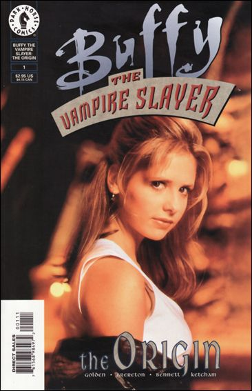 Buffy the Vampire Slayer: The Origin 1-B by Dark Horse