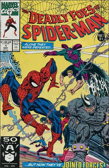 Deadly Foes of Spider-Man 1-A by Marvel