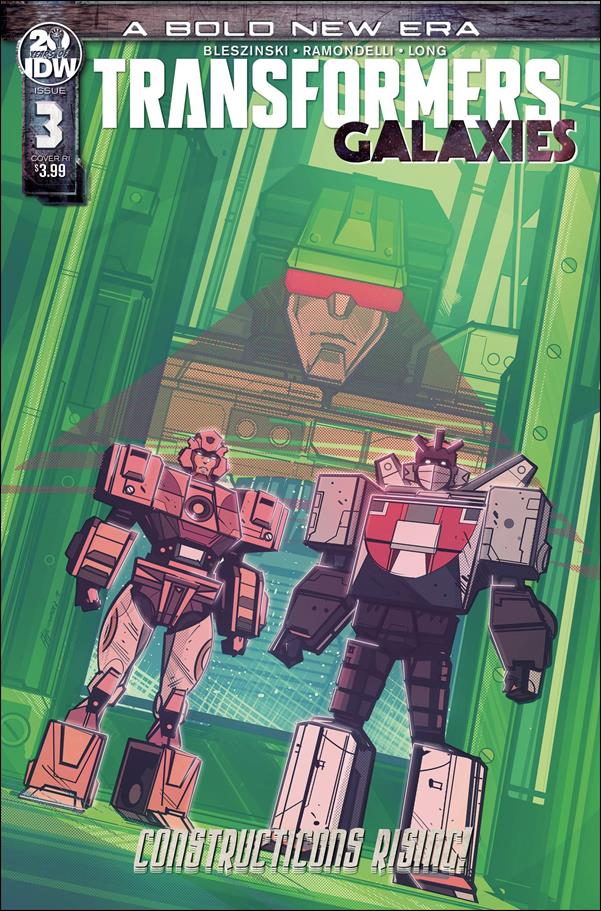 Transformers: Galaxies 3-C by IDW