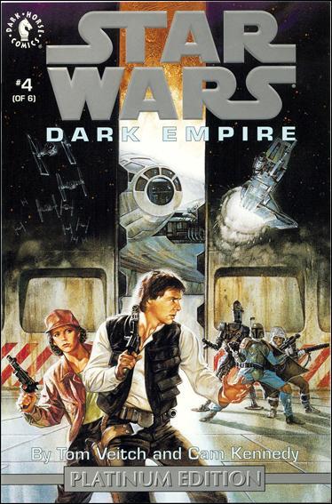 Star Wars: Dark Empire 4-C by Dark Horse
