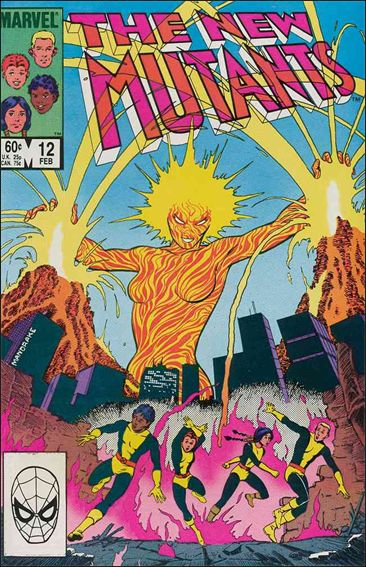 New Mutants (1983) 12-A by Marvel