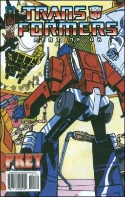 Transformers: Best of UK: Prey 1-B by IDW