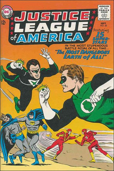 Justice League of America (1960) 30-A by DC