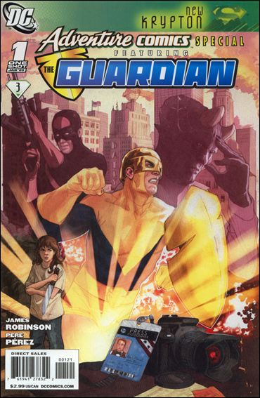 Adventure Comics Special Featuring the Guardian 1-B by DC