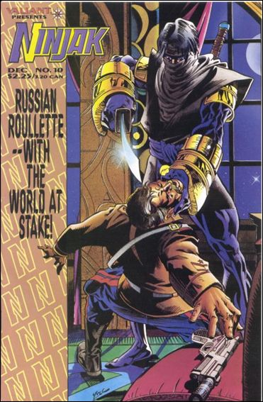 Ninjak (1994) 10-A by Valiant