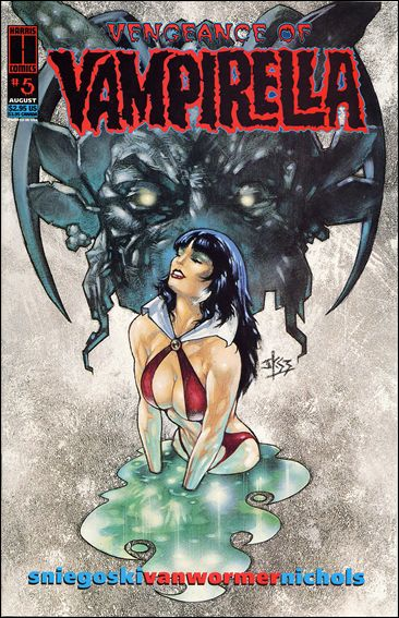 Vengeance of Vampirella 5-A by Harris