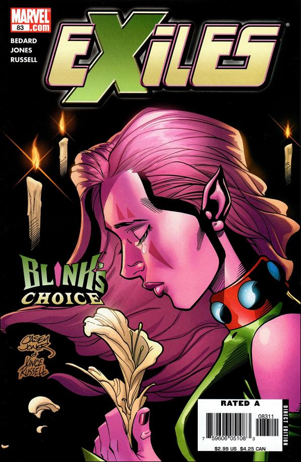 Exiles (2001) 83-A by Marvel
