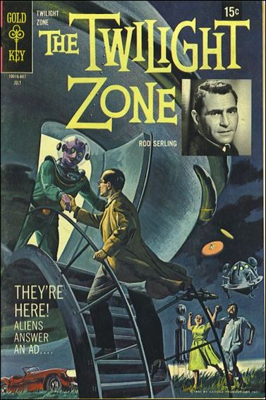Twilight Zone (1962) 26-A by Gold Key