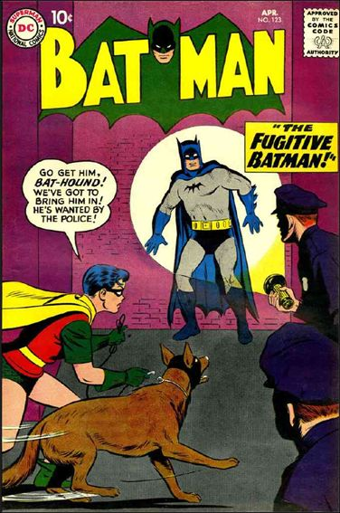 Batman (1940) 123-A by DC