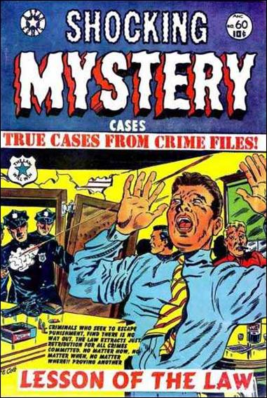 Shocking Mystery Cases 60-A by Star Publications