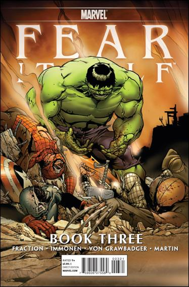 Fear Itself 3-C by Marvel