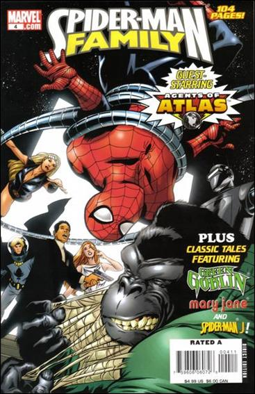 Spider-Man Family (2007) 4-A by Marvel